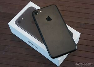 Black iPhone 7 with any carrier