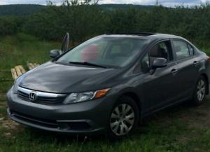 Honda Civic EX-L 2012 à Vendre