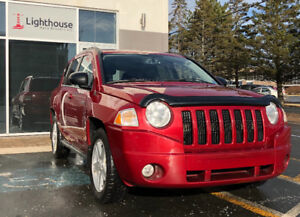 2010 Jeep Compass  4x4 / MANUAL / NEW SAFETY / WINTER TIRES