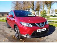 2016 16 Nissan Qashqai 1.2 DIG-T N-TEC+ Petrol Manual 6 Speed with Navigation