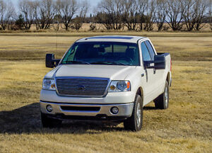 2008 FORD F-150 LARIAT, 4x4, Loaded, 157km