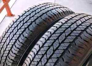 Sets of 205/70/15,215/70/15,215/50/17 all season tires