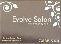 Evolve Salon - Home Based Hair Salon In Peterborough