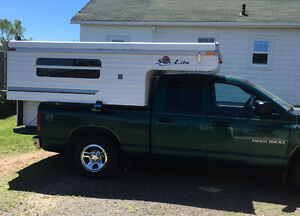 Pop-up Truck Camper/Truck Combo