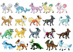 eevee evoltions wanted