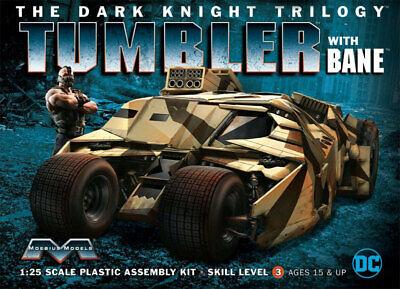 Moebius Batman Dark Knight Trilogy Tumbler Batmobile with Bane Model Kit 18BMO02