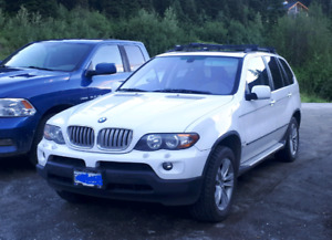 Bmw x5 4.4i with brand new tires