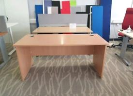 beach brown Office desks 1200x800 cm (40+ availabile)