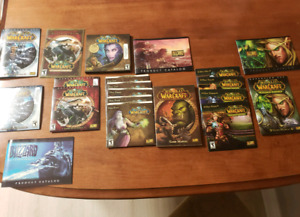 World of Warcraft and expansions
