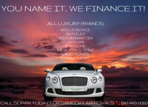 Looking To Finance/Lease a luxury car? Bad Credit? We APPROVE
