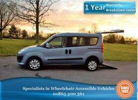Fiat Doblo 1.6 AUTO, Diesel, Wheelchair Accessible Vehicle, WAV, Disabled Car.