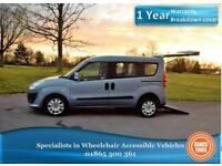 Fiat Doblo 1.6 AUTO, Diesel, Wheelchair Accessible Vehicle, WAV, Disabled Car.