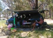 Tarago campervan Taylors Hill Melton Area Preview