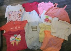 Mixed size baby girl bundle
