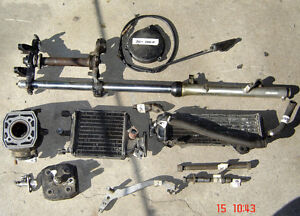 1982 & 1983 Yamaha YZ80 parts for sale