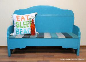 Beautiful headboard bench