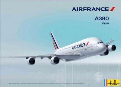 Heller A-380 Air France Airplane Model Building Kit 3279510804362