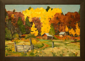 Deacon, Ontario - oil painting by John Musial