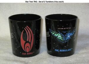 Set of Star Trek Tumblers – Long Out of Production