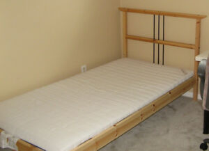 Ikea Bed Frame Twin Buy Or Sell Beds Mattresses In Ottawa