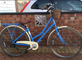 "Victoria Pendalton somerby city town Hybrid Dutch bike. 17"" frame.Work"