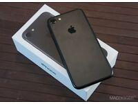 APPLE IPHONE 7 128GB MATT BLACK BRAND NEW CONDITION APPLE WARRANTY & SHOP RECEIPT