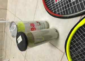 Two Tennis Racquets with 6 Balls London Ontario image 3
