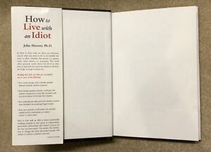 How to Live with an Idiot - hardcover best-seller Belleville Belleville Area image 4