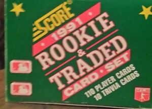 1991 Rookie & Traded Complete Set - MLB Regina Regina Area image 1