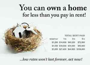 Are You Tired of Wasting $$ on Rent?