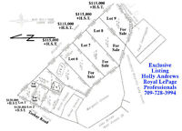 Six building lots located in Torbay