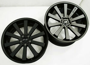 GIANELLE SANTO 20 x 8.5/10 RIMS WHEELS FOR NISSAN 350z
