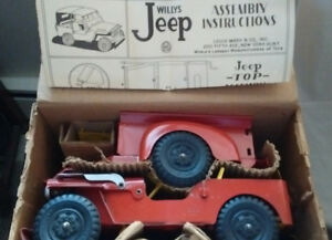 Willy's Jeep by Marx toys..