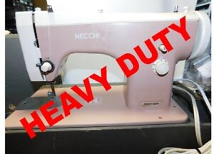 MACHINE À COUDRE HEAVY DUTY POUR CUIR, JEANS, SUNBRELLA, CANVAS