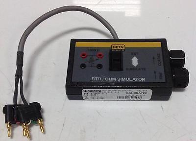 Transcat Rtd Ohm Simulator 5 Ub8kh 23 1