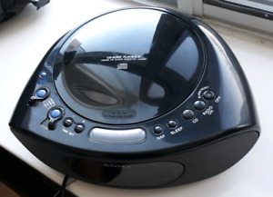 Sony Alarm Clock with Radio and CD player