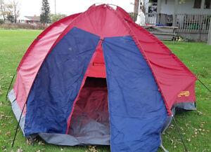 Camping Tent - 9 x 9 Feet