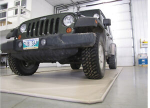 Garage Floor Containment Mats - Protect your floors & tools!