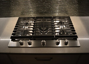 "Kitchen Aid 30"" gas cooktop"