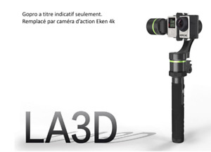 Lanparte Deteachable Wired 3-Axis Gimbal for GoPro and Action Ca