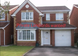 Private landlord wanted