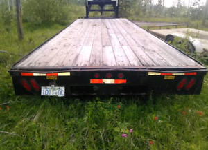 24 foot gooseneck trailer