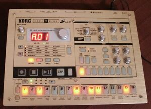 Korg Electribe ES Mk2 along with 64 MB card & power supply