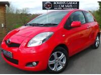 2010 10 TOYOTA YARIS 1.3 TR VVT-I 3DR - 2 OWNERS - 8 SERVICES - £30 TAX