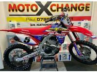 2021 HONDA CRF 250...0.1 HOURS...FULLY TRICKED...£10,995....MOTO X CHANGE