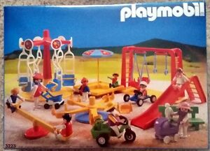 Playmobil 3223 - playground from 1987 - rare mint in sealed box