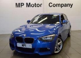 2013 63 BMW 1 SERIES 1.6 116I M SPORT 135 BHP,5DR 6SP S/S HB,43,000M,FULL BMWSH