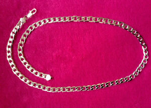 "Beautiful 8MM - 24"" Stamped Men's Chain"