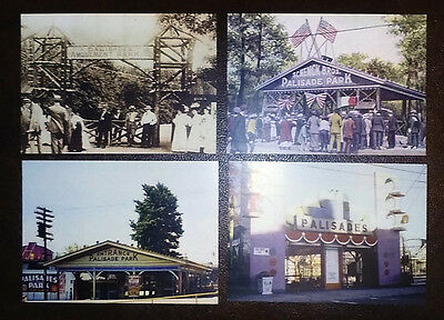 "Palisades Amusement Park: Through The Years *** FOUR BEAUTIFUL 5X7"" PHOTOS"