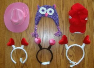 BUILD A BEAR HAT COLLECTION $5 FOR EVERYTHING